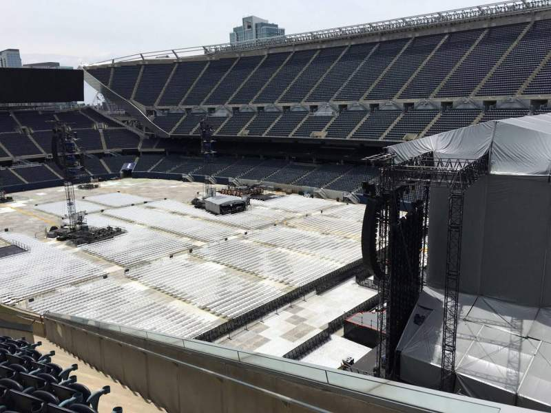 Seating view for Soldier Field Section 301 Row 13 Seat 2
