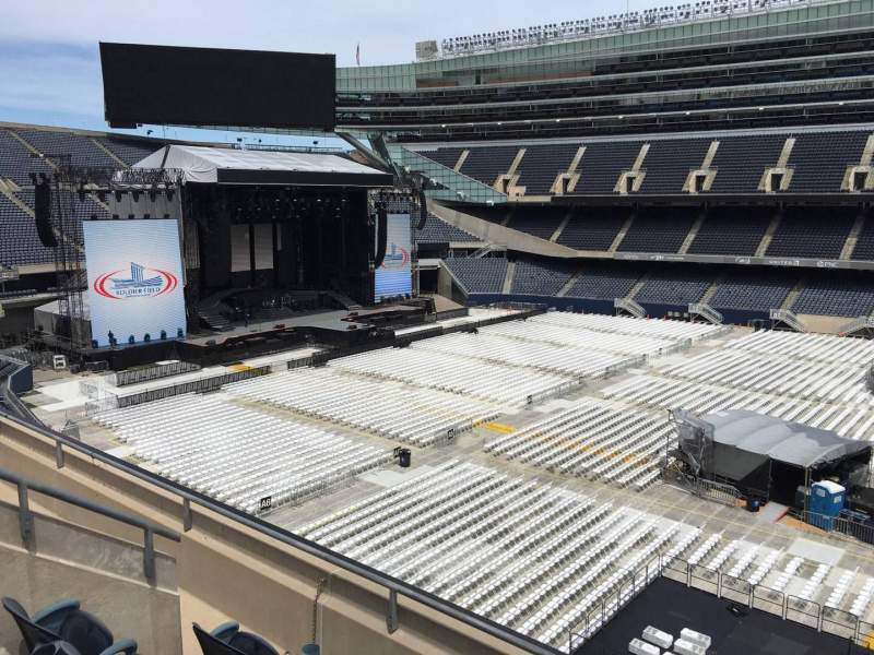 Seating view for Soldier Field Section 336 Row 4 Seat 11
