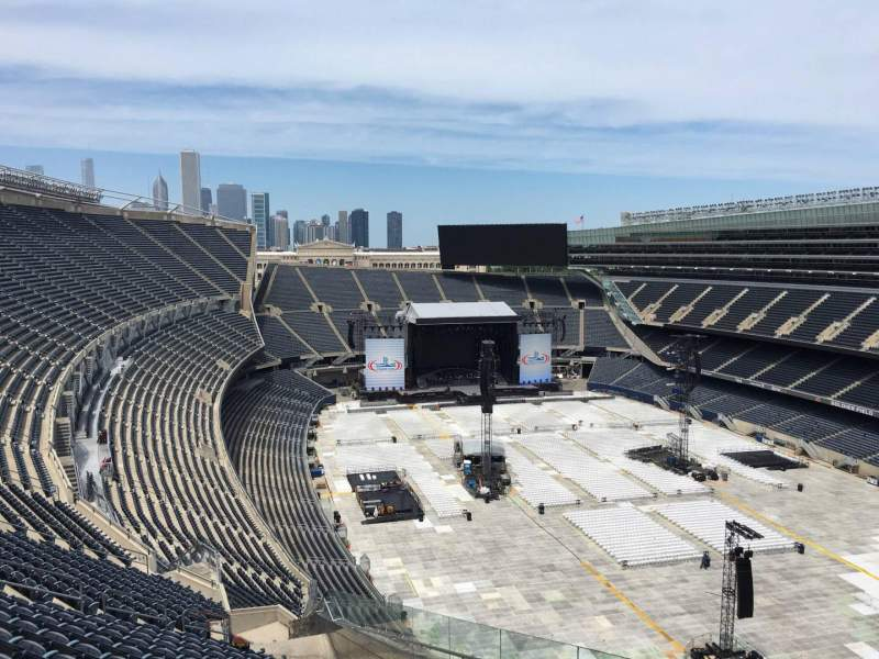 Soldier Field, section: 427, row: 20, seat: 2