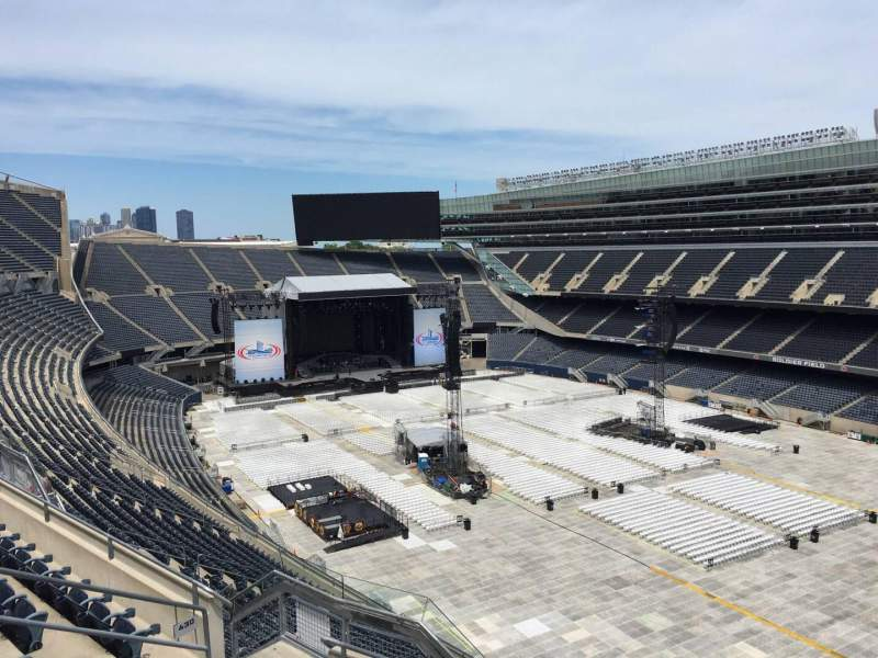 Seating view for Soldier Field Section 430 Row 6 Seat 10