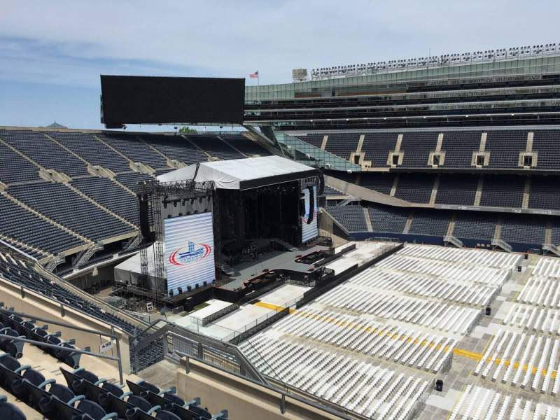Seating view for Soldier Field Section 438 Row 6 Seat 12