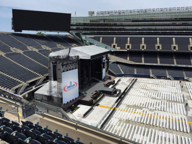 Seating view for Soldier Field Section 440 Row 6 Seat 12