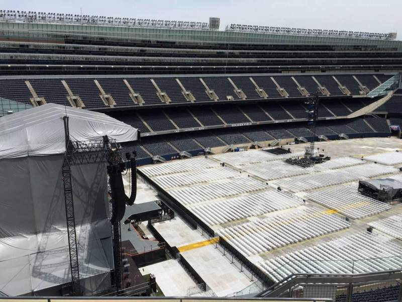 Seating view for Soldier Field Section 444 Row 6 Seat 15