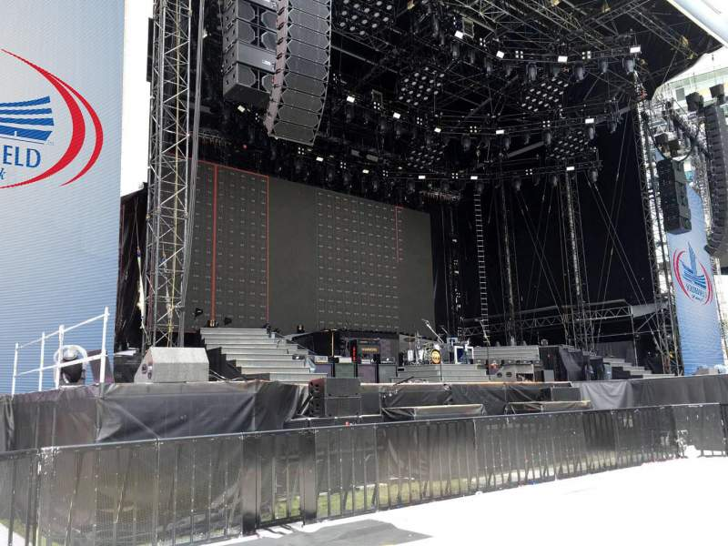 Seating view for Soldier Field Section Pit Left