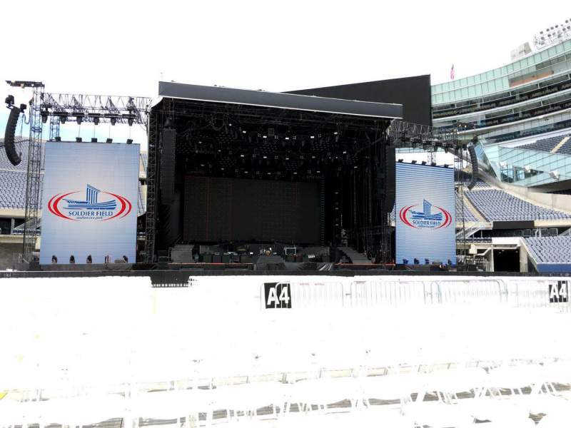 Seating view for Soldier Field Section B4 Row 10 Seat 19