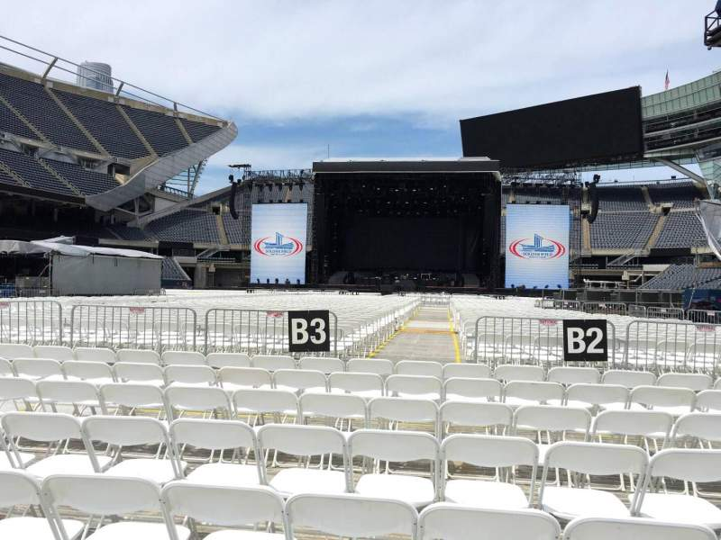 Seating view for Soldier Field Section C3 Row 8 Seat 11