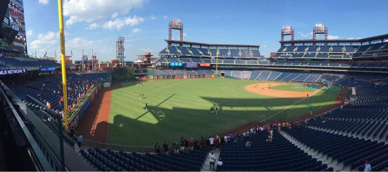 Seating view for Citizens Bank Park Section Suite 2 Row 1 Seat 1
