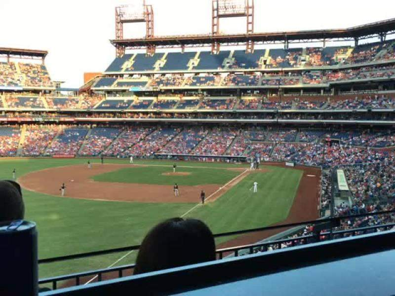 Seating view for Citizens Bank Park Section Suite 2 Row 2 Seat 6
