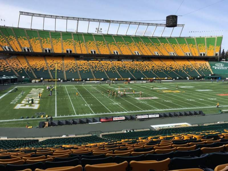 Seating view for Commonwealth Stadium (Edmonton) Section Y Row 35 Seat 10