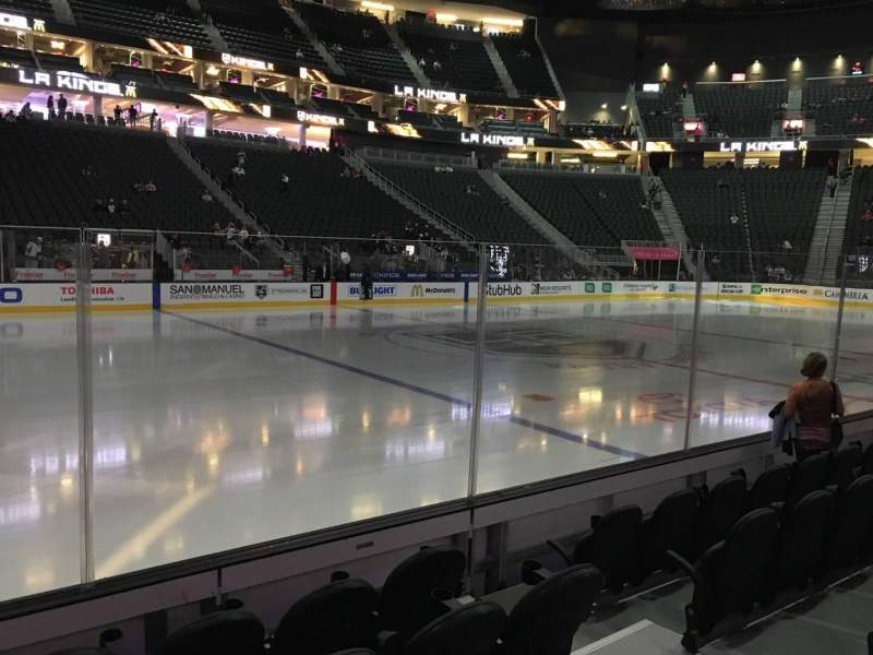 Seating view for T-Mobile Arena Section 14 Row A Seat 7
