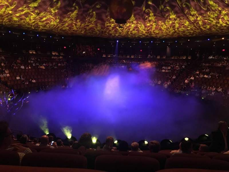 Seating view for Wynn Theatre Section B Row J Seat 10
