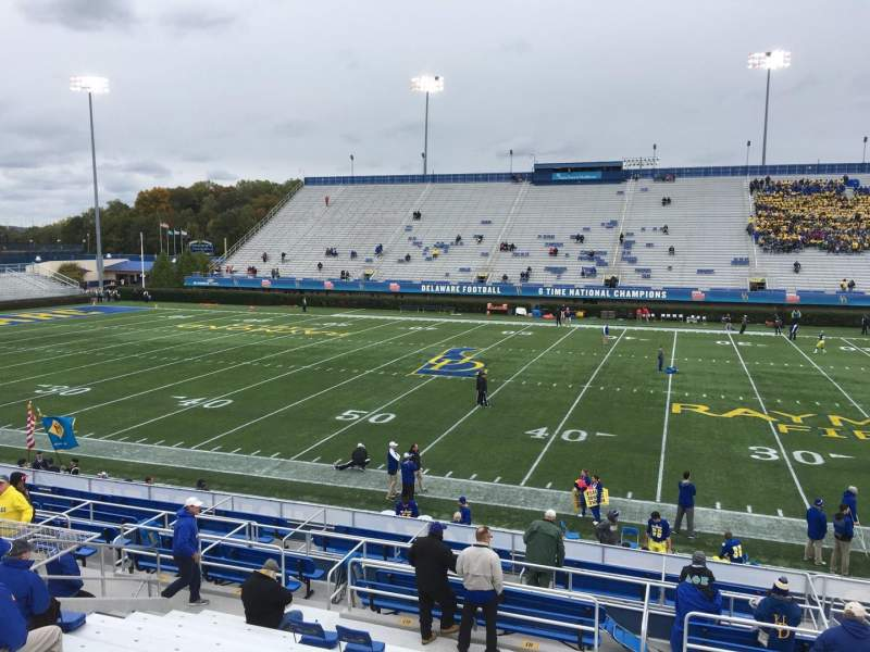 Seating view for Delaware Stadium Section C Row N Seat 15