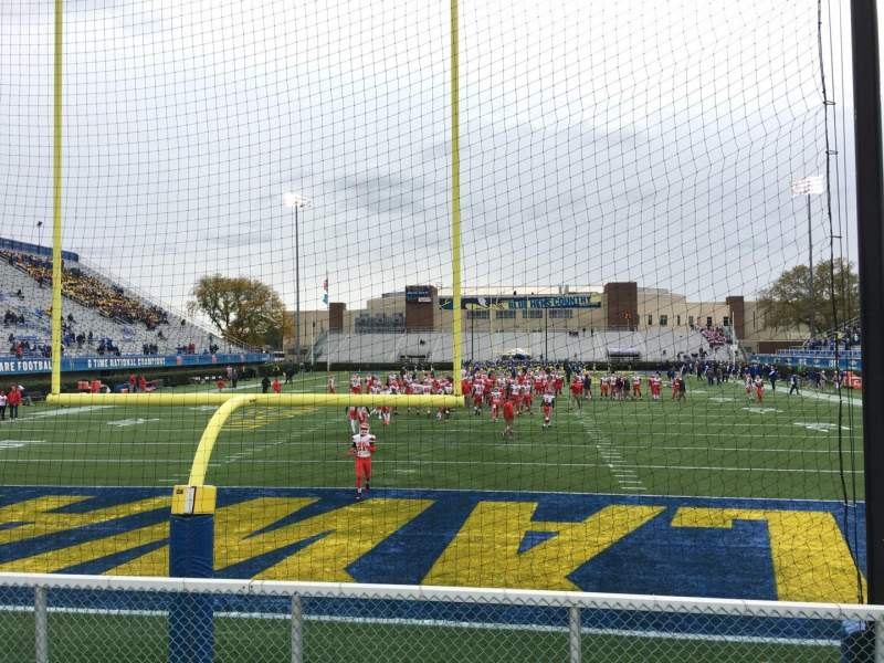 Seating view for Delaware Stadium Section W Row F Seat 55