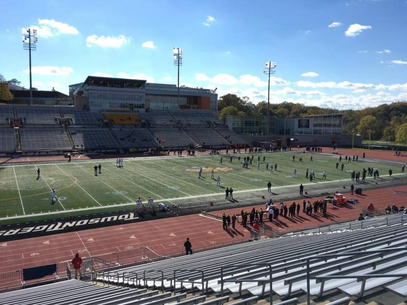 Johnny Unitas Stadium, section: 107, row: DD, seat: 8
