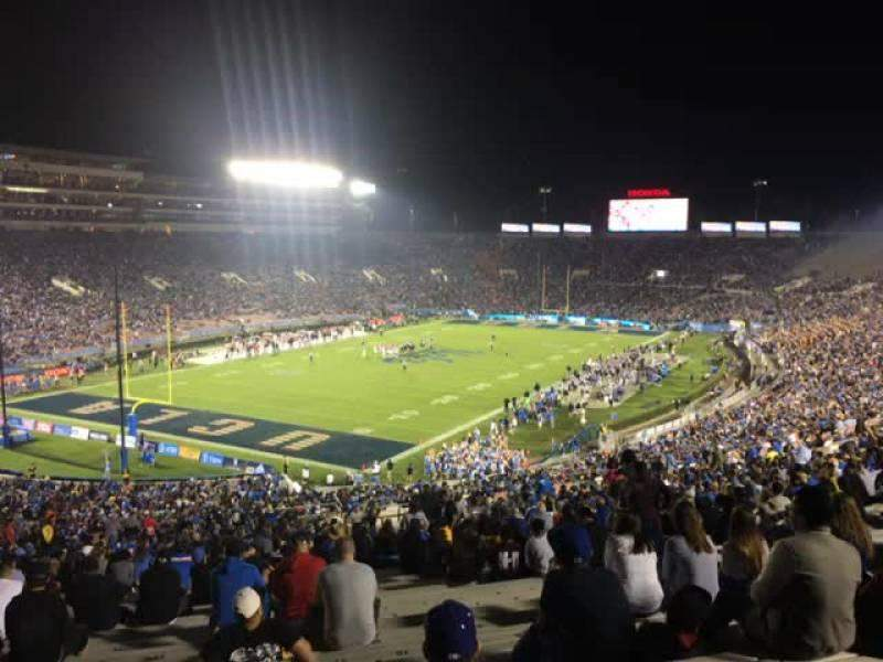 Rose Bowl Section 28 L Row 68 Seat 13 Ucla Bruins Vs