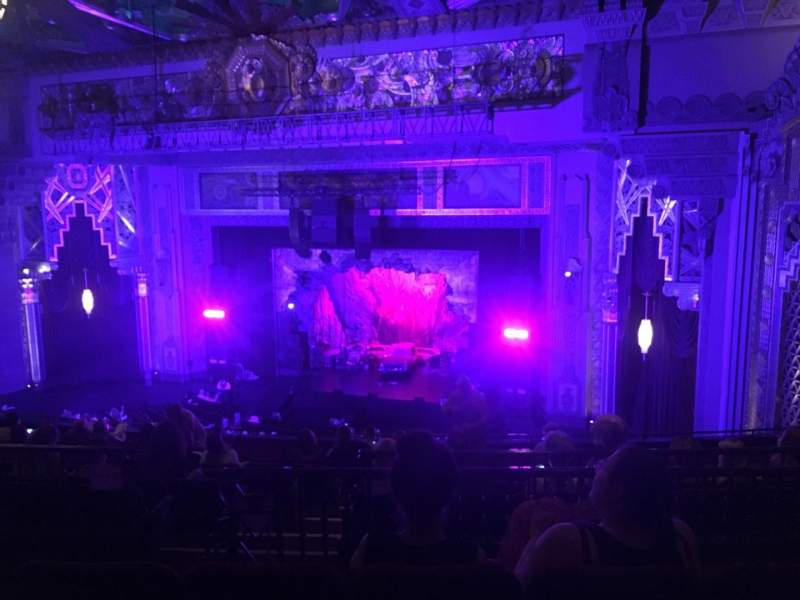 Seating view for Hollywood Pantages Theatre Section Mezzanine R Row M Seat 10