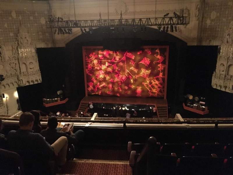 Seating view for Orpheum Theatre (San Francisco) Section Balcony RC Row C Seat 102
