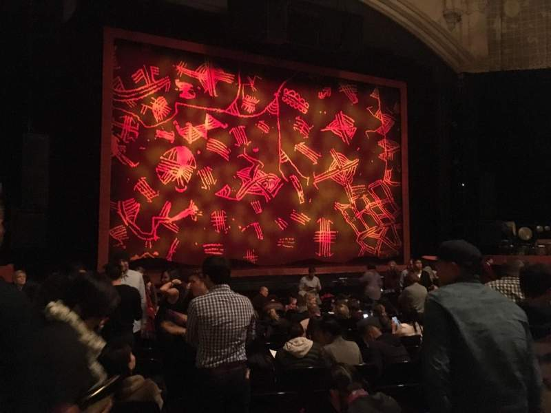 Seating view for Orpheum Theatre (San Francisco) Section Orchestra LC Row S Seat 127