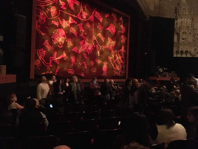 Seating view for Orpheum Theatre (San Francisco) Section Orchestra L Row O Seat 15