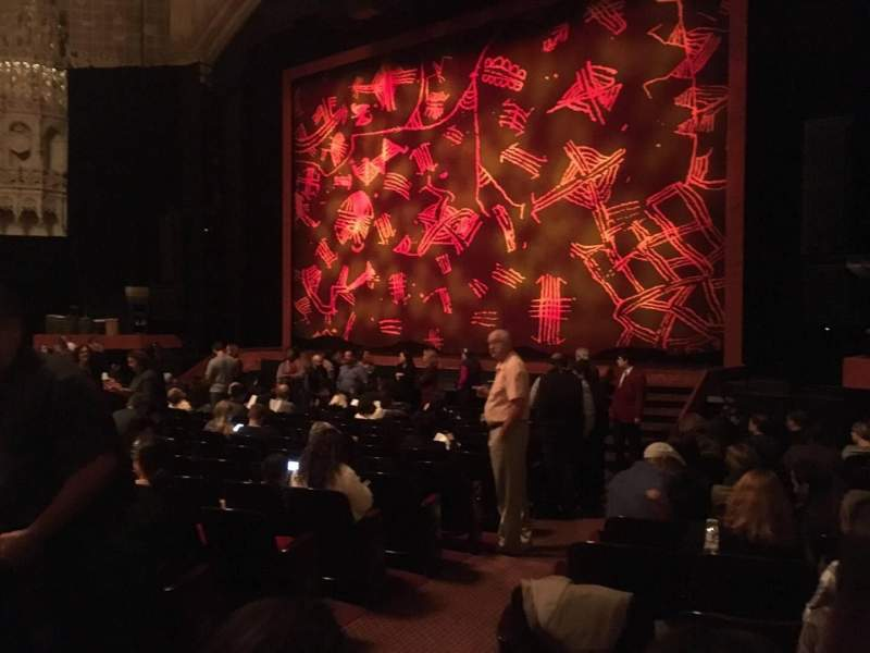 Seating view for Orpheum Theatre (San Francisco) Section Orchestra R Row R Seat 6
