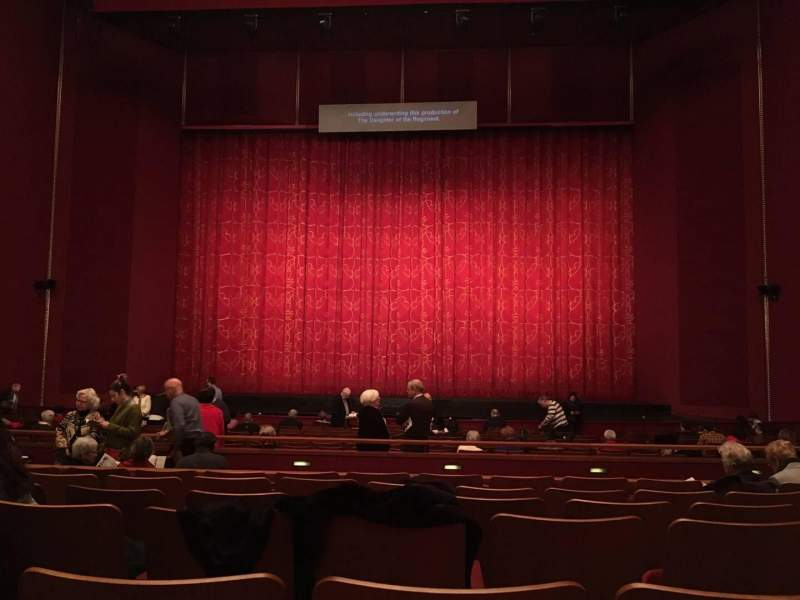 Seating view for The Kennedy Center Opera House Section Orchestra C Row Y Seat 112