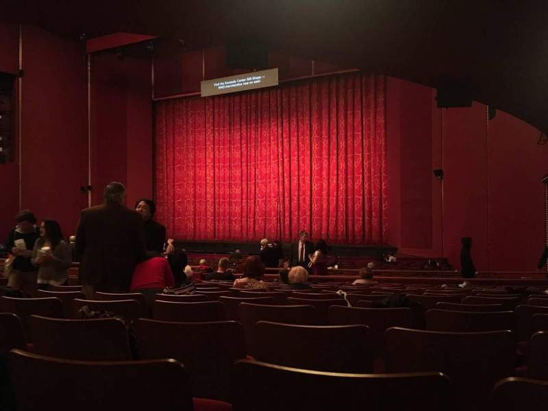 Seating view for The Kennedy Center Opera House Section Orch Row Dd Seat 16