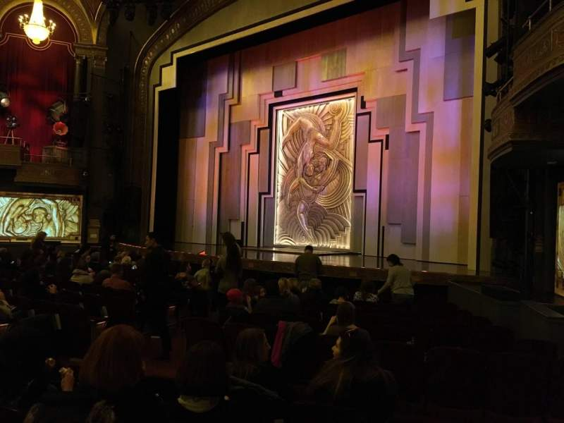Seating view for Lyric Theatre Section Orch Right Row M Seat 22