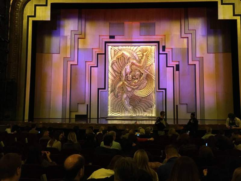 Seating view for Lyric Theatre Section Orch C Row L Seat 108