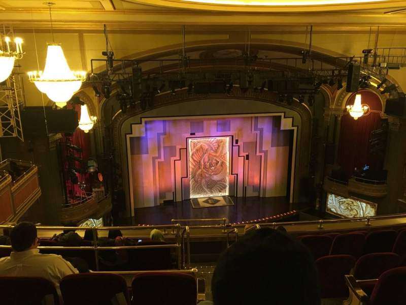 Seating view for Lyric Theatre Section Balc L Row G Seat 1