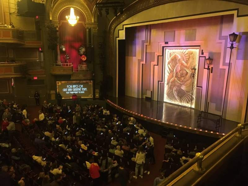 Seating view for Lyric Theatre Section Dress Circle R Box C Row 1