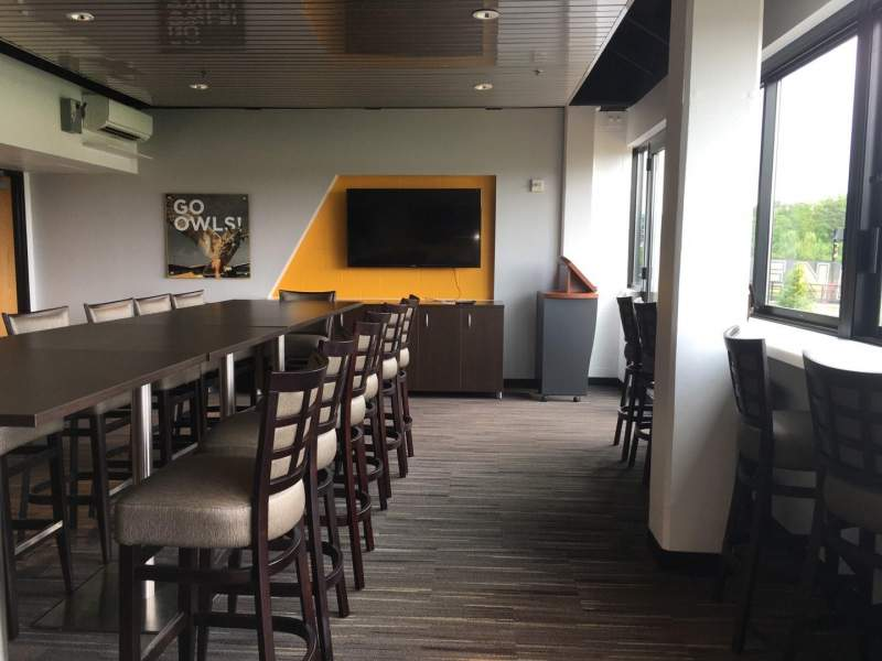 Seating view for Fifth Third Bank Stadium Section Super Suite