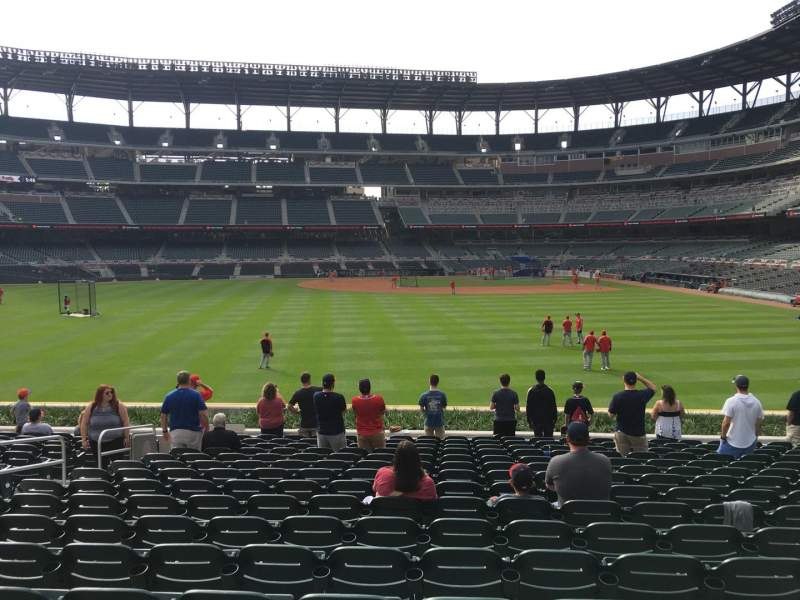 Seating view for Truist Park Section 147 Row 16 Seat 14