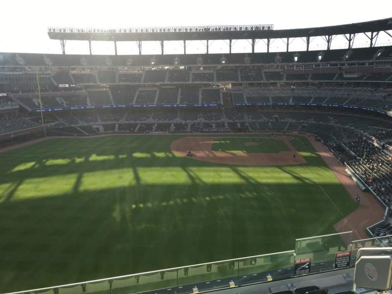 Seating view for Truist Park Section 347 Row 7 Seat 7