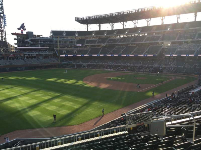Seating view for Truist Park Section 241 Row 7 Seat 7