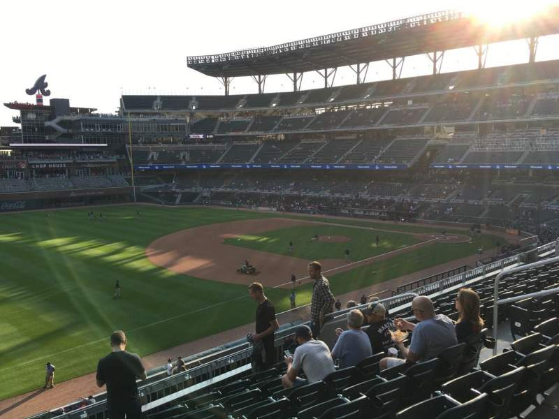 Seating view for Truist Park Section 239 Row 7 Seat 10