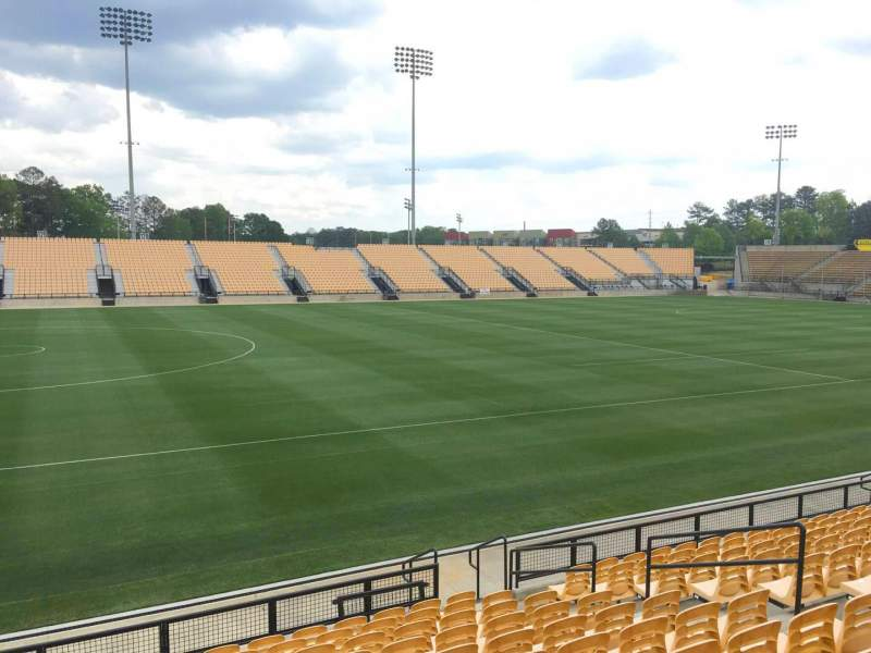 Seating view for Fifth Third Bank Stadium Section 103 Row L Seat 11