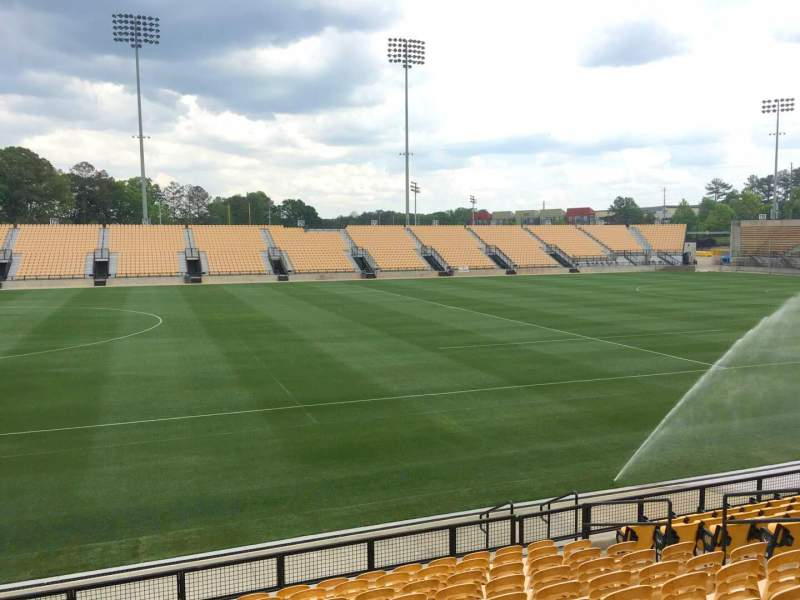 Seating view for Fifth Third Bank Stadium Section 104 Row L Seat 10