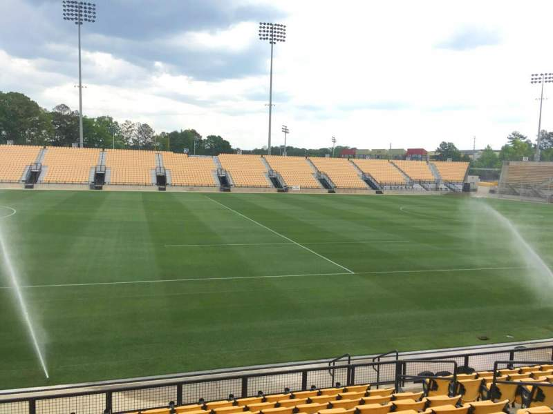 Seating view for Fifth Third Bank Stadium Section 105 Row L Seat 10