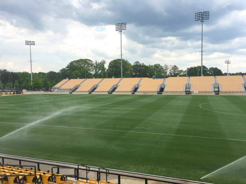 Seating view for Fifth Third Bank Stadium Section 108 Row L Seat 10