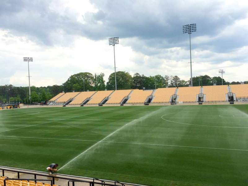 Seating view for Fifth Third Bank Stadium Section 109 Row L Seat 10