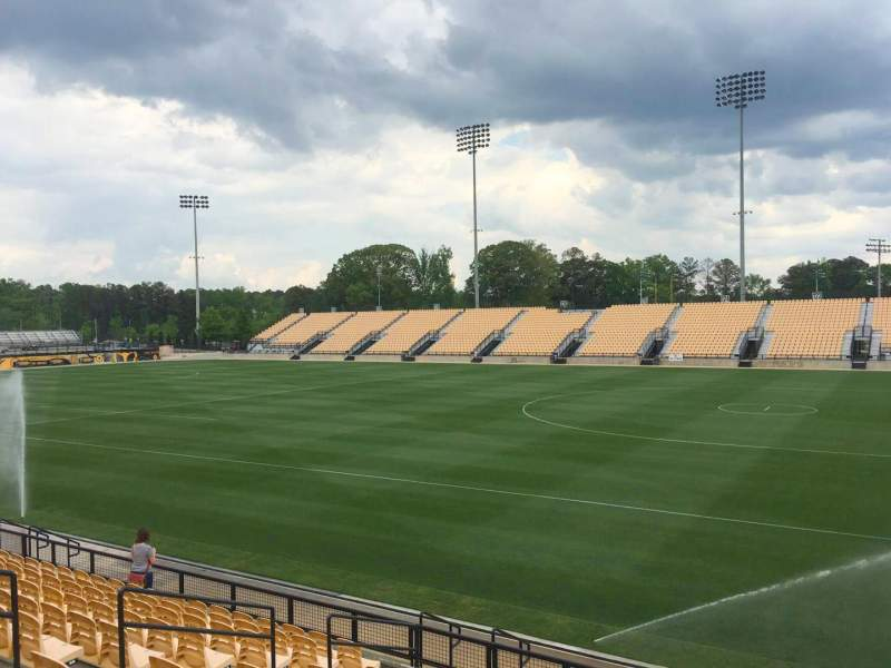 Seating view for Fifth Third Bank Stadium Section 110 Row L Seat 10