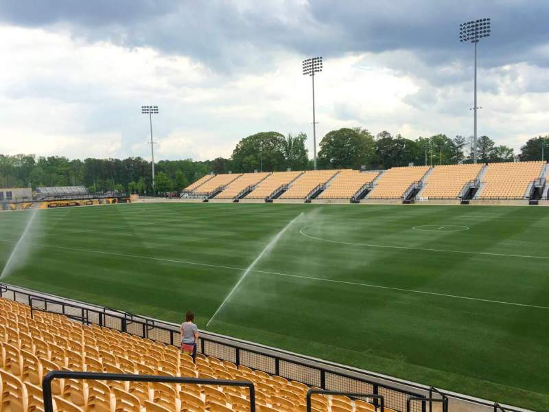 Seating view for Fifth Third Bank Stadium Section 111 Row L Seat 5