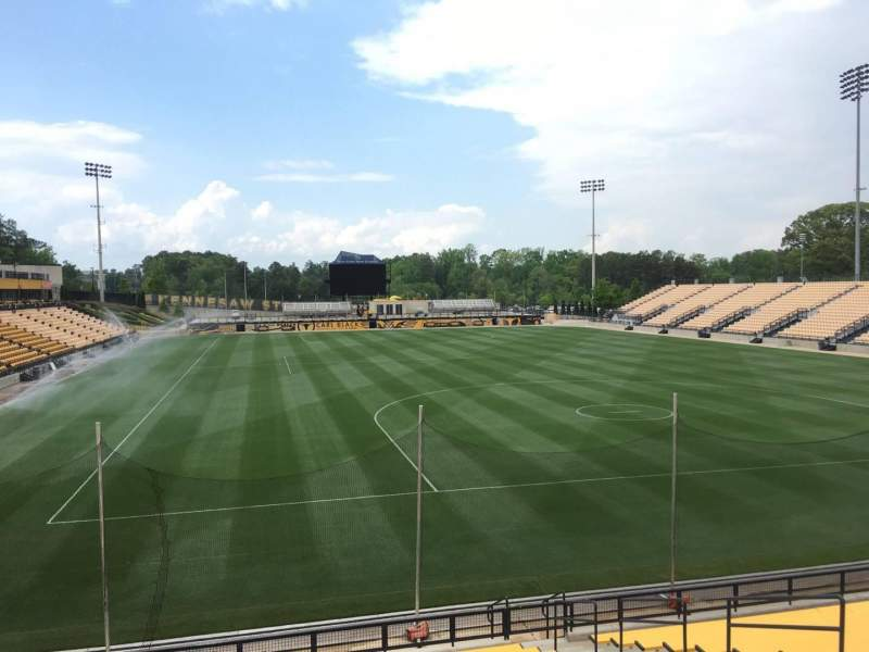 Seating view for Fifth Third Bank Stadium Section 114