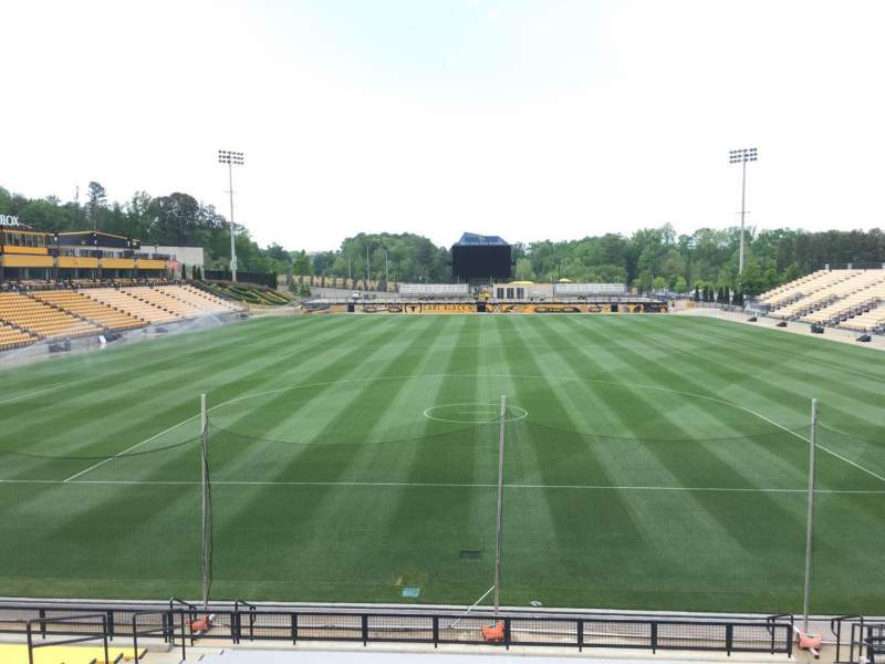 Seating view for Fifth Third Bank Stadium Section 116