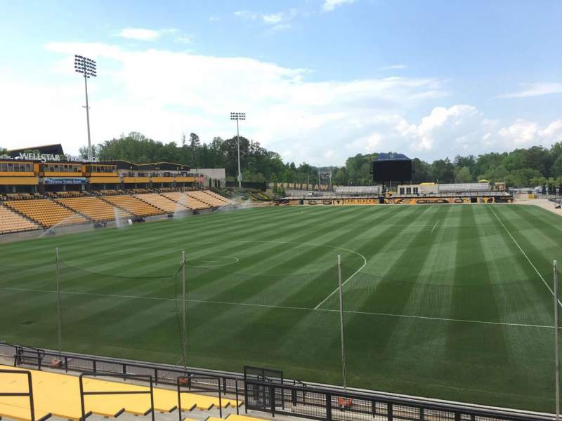 Seating view for Fifth Third Bank Stadium Section 118