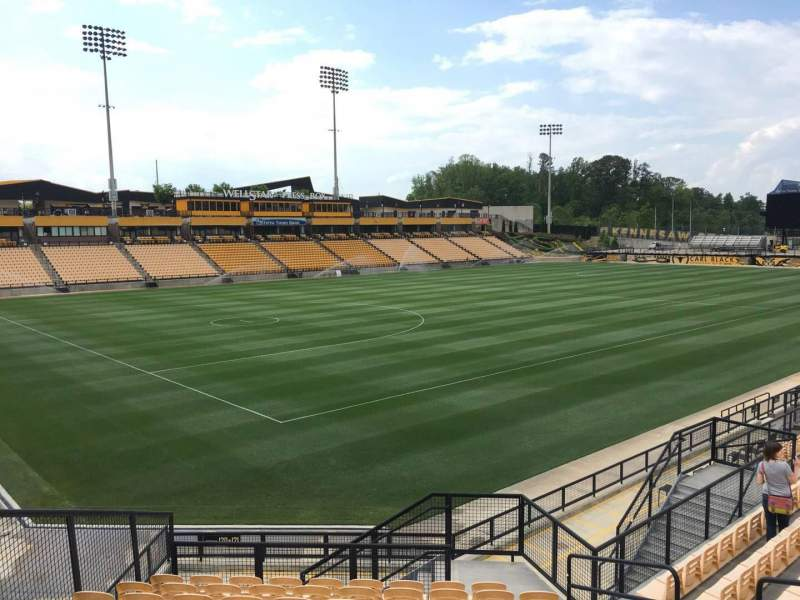 Seating view for Fifth Third Bank Stadium Section 120 Row Q Seat 8