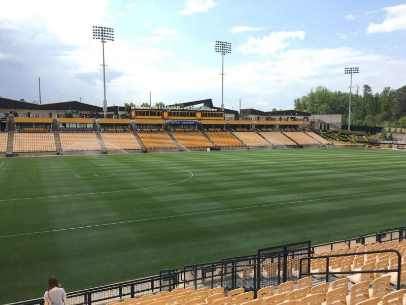 Seating view for Fifth Third Bank Stadium Section 122 Row R Seat 10