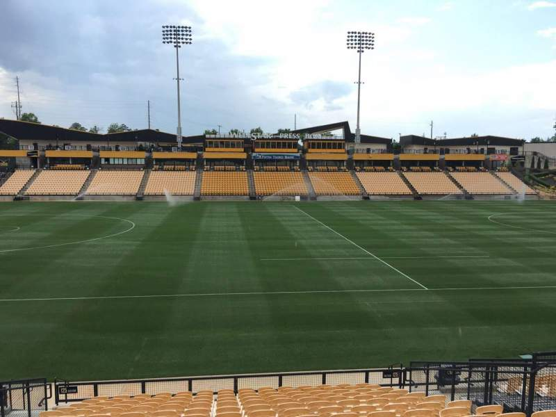 Seating view for Fifth Third Bank Stadium Section 125 Row R Seat 10