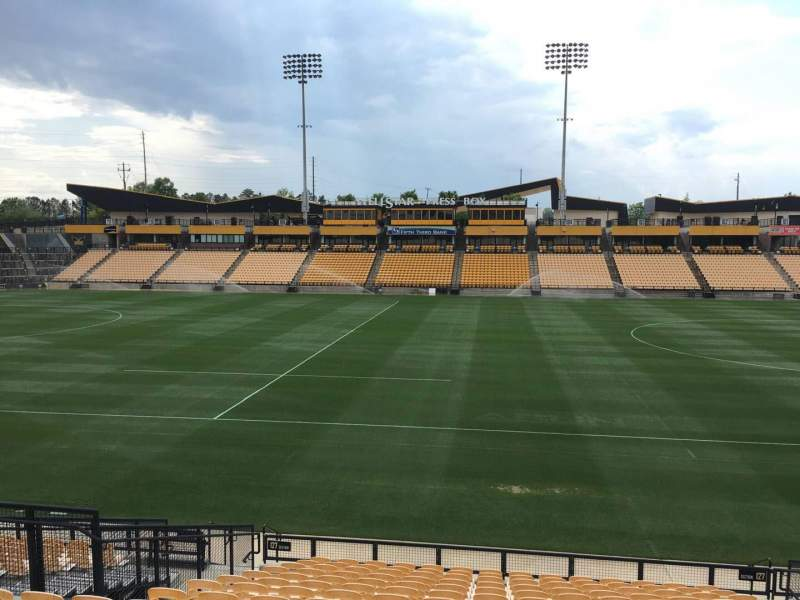 Seating view for Fifth Third Bank Stadium Section 127 Row R Seat 10