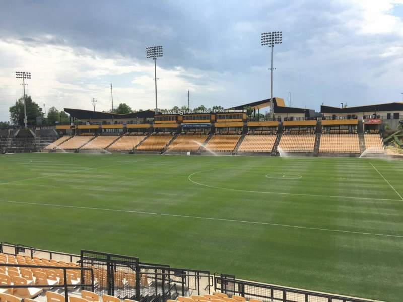 Seating view for Fifth Third Bank Stadium Section 130 Row R Seat 10